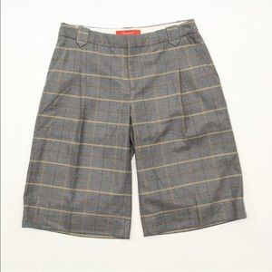 Anthropologie Shorts - Anthropologie Cartonniere Sz 8 Wool Plaid Shorts